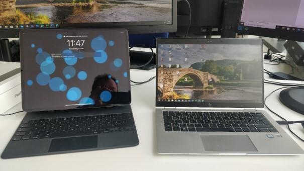 Nahtloser Austausch der Hardware ist mit dem iPad Pro kein Problem
