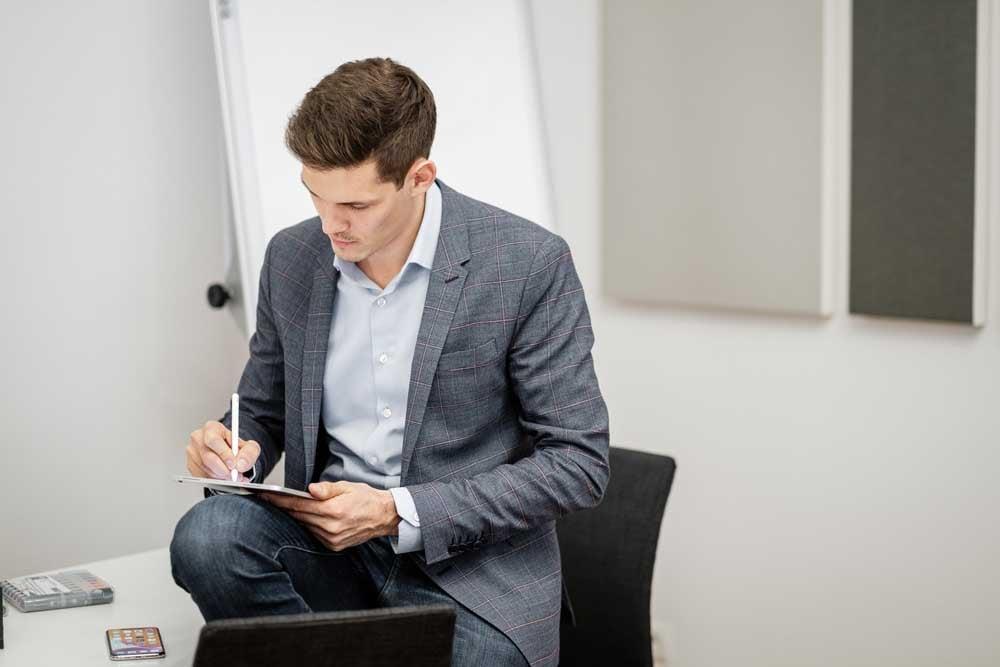 Das iPad Pro bietet vielfältige Möglichkeiten für den modernen Arbeitsplatz