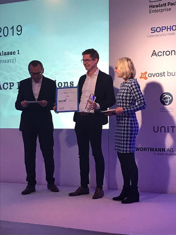 ACP ist bester Managed Service Provider 2019