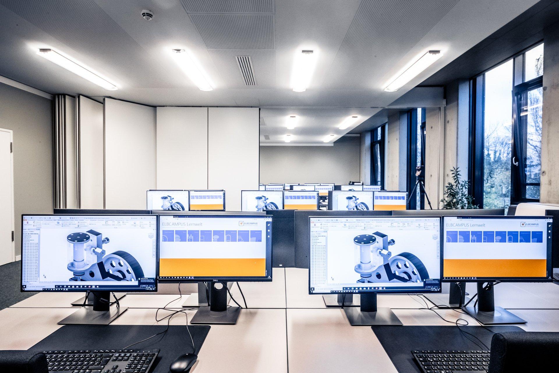 ELBCAMPUS | IT-Arbeitsplätze