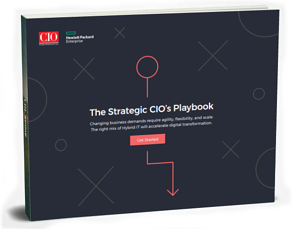 the strategic cio playbook 3d cover
